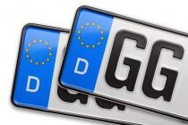 Bald freie Wahl der Autokennzeichen?
