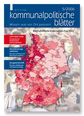 aktuelle Ausgabe der Kopo - kommunalpolitische Blätter zur Kommunalpolitik